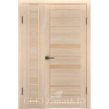 Полуторная дверь GL ATUM X6 + X30 - Капучино