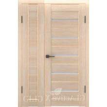 Полуторная дверь GL ATUM X6 + X7 - Капучино