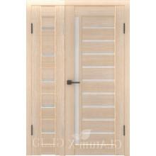 Полуторная дверь GL ATUM X7 + X11 - Капучино