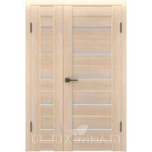 Полуторная дверь GL ATUM X7 + X7 - Капучино