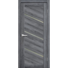 FLY DOORS L05 - (Остекленная) - Дуб стоунвуд 3D