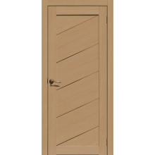 FLY DOORS L05 - (Остекленная) - Тиковое дерево 3D