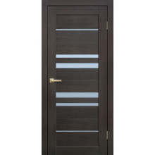 FLY DOORS L14 - (Остекленная) - Венге 3D