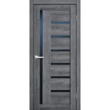 FLY DOORS L17 - (Остекленная) - Дуб стоунвуд 3D