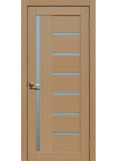 FLY DOORS L17 - (Остекленная) - Тиковое дерево 3D