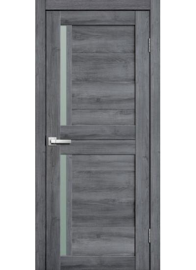 FLY DOORS L22 - (Остекленная) - Дуб стоунвуд 3D