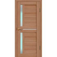 FLY DOORS L22 - (Остекленная) - Тиковое дерево 3D