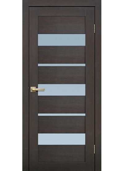Микрофлекс - Fly Doors L20 - (Остекленная) - Венге 3D
