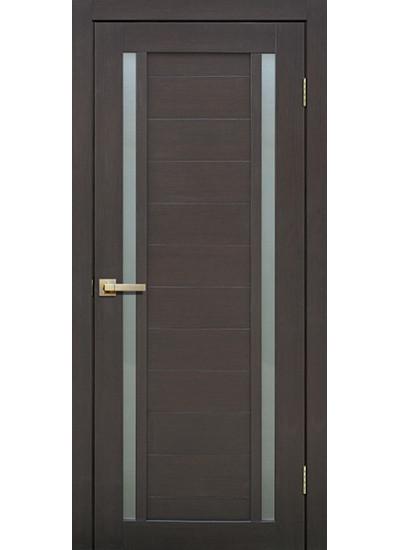 FLY DOORS L23 - (Остекленная) - Венге 3D