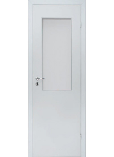 Olovi - Противопожарная однопольная EI30/34db - (Остекление 25%) - Белая