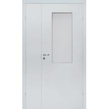 OLOVI - Противопожарная полуторная EI30/34db - (Остекление 25%) - Белая