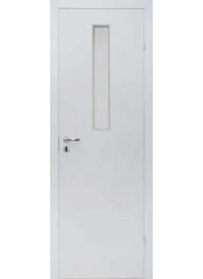 Olovi - Противопожарная однопольная EI30/34db - (Остекление 9%) - Белая