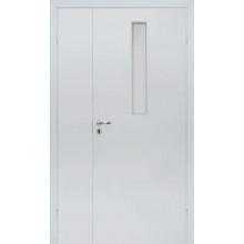 OLOVI - Противопожарная полуторная EI30/34db - (Остекление 9%) - Белая