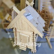 Садовая «Избушка на куриных ножках» декоративная
