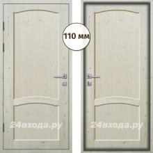 Входная деревянная дверь «ЗИМА ПЛЮС - Классика»