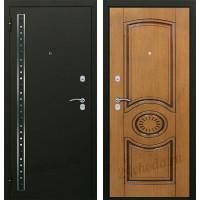 АРГУС - МАРКИЗ - (Черный шелк / Патина коричневая)