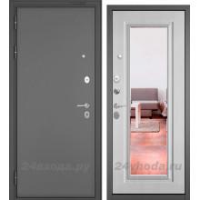 БУЛЬДОРС - MASS 90 9S-140 ЗЕРКАЛО - (Букле графит / Ларче белый)