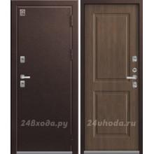 ЦЕНТУРИОН T2 - ТЕРМО-дверь (Медь / Миндаль)