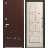 ЦЕНТУРИОН T4 - ТЕРМО-дверь (Серебро антик / Седой дуб)