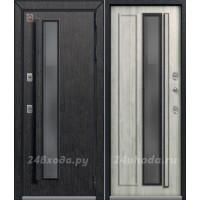 ЦЕНТУРИОН T5 PREMIUM - ТЕРМО-дверь (Черный скол дуба / Полярный дуб)