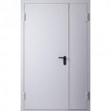 Дверь противопожарная - ДПМ-02-60 RAL7035 (2050x1170 мм) ЛР