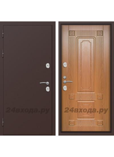 Дверь ЛЕГИОНЕР - ТЕПЛО 3К - (Медь / Орех)