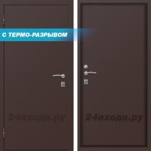 МИКРОН - СИБИРЬ ТЕРМО-дверь - (Медь антик / Металл)