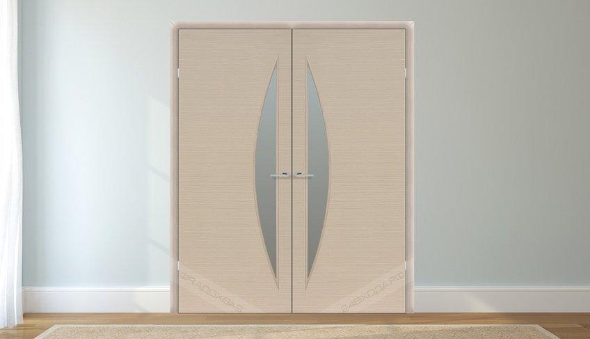 Дверь двустворчатая беленый дуб 1 24vhoda.ru - 50