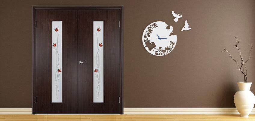 Двери венге 2 двустворчатые 24vhoda.ru