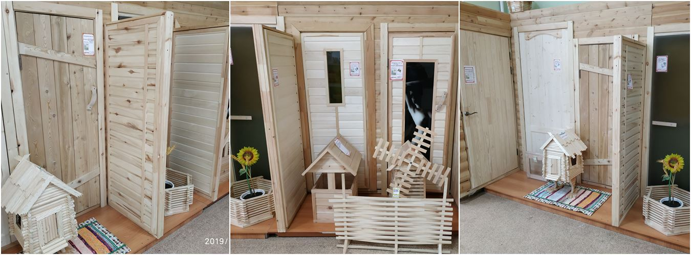 Выставка дверей на Айвазовского 2