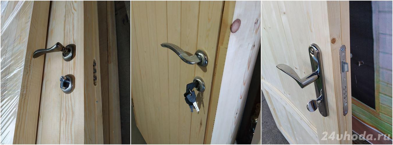 Утепленные входные деревянные двери 04